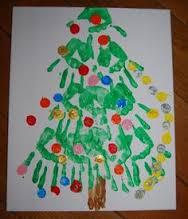 kerstboom-handafdrukken