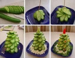komkommer-kerstboom-maken