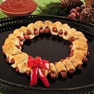 worstenbroodjes-kerstkrans